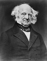 Martin Van Buren Arguably the most impressive set of mutton chops ever elected President.