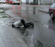 Drunk in Street