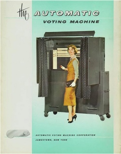 Automatic Voting Machine Company ad