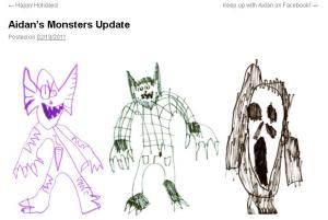 Aidan's Monsters