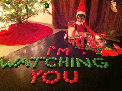 Elf on the Shelf Watching You