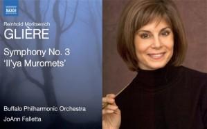 JoAnn Falletta Symphony No. 3 Reinhold Gliere Buffalo Philharmonic Orchestra