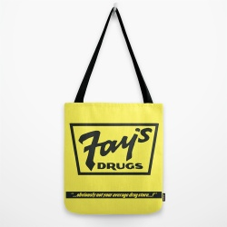 Fay's Drugs tote bag