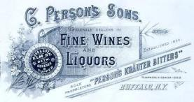 C. Peron's Sons Advertisement