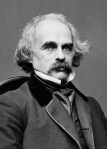 Nathaniel Hawthorne with epic moustache