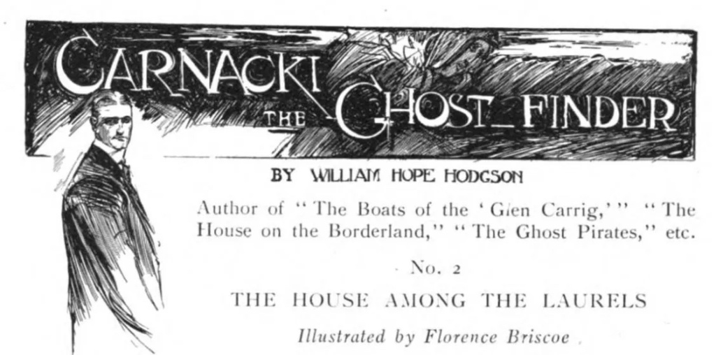 Carnacki, the Ghost-Finder Illustration